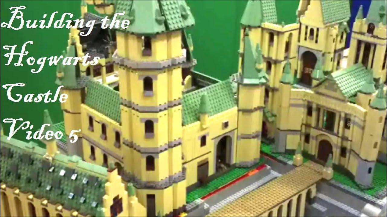 lego harry potter hogwarts building the hogwarts castle video 5 youtube. Black Bedroom Furniture Sets. Home Design Ideas