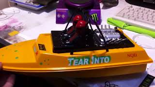 nqd jetboat conversion from brushed to brushless.