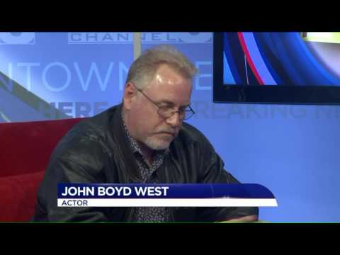 Actor John Boyd West comes home from Hollywood to teach his craft!