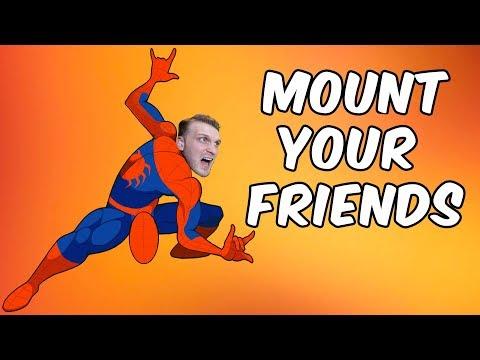 Mount Your Friends Igrica - UZJASITE SVOG PRIJATELJA (Challenge Edition)W/iggy Plejer
