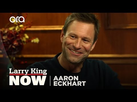 Aaron Eckhart on His Mormon Roots, Hidden Talent, Heath Ledger, and Julia Roberts