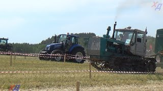 T150 vs New Holland | Tractor show || Tractor Drag Race competitions