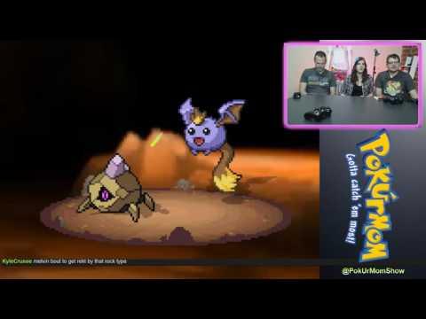 PokUrMom! with Ted Harris - Playing Pokemon Uranium, pt 6