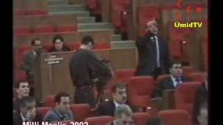 Parlamentde YAP İqbal Agazade qarshidurmasi