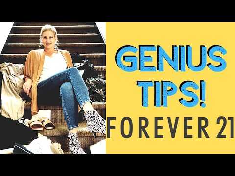 HOW TO SHOP FOREVER 21 FOR THE GOOD STUFF