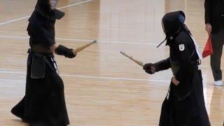 2017年2月12日に開催された「第16回全日本短剣道大会」個人戦成年Aの部...