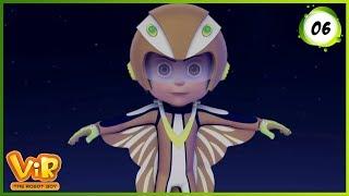 Vir: The Robot Boy | The Giant Flower | Action Show for Kids | 3D cartoons