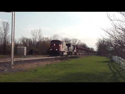 CN work train