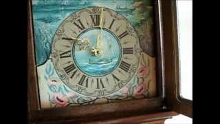 Large 8 Day Oak Wood Dutch Friese Tailed Wall Clock For Sale On Ebay Uk.