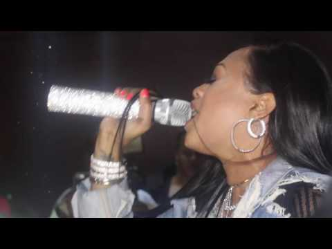 TRINA LIVE @ GRANT PLAZA -VINELAND 11-10-16 FILMED BY @SEMISERG & @SLYMONEY