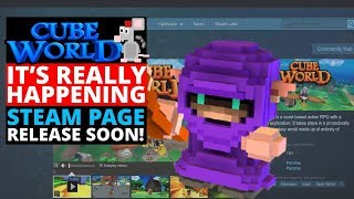Cube World Is On Steam September October Release Date Youtube