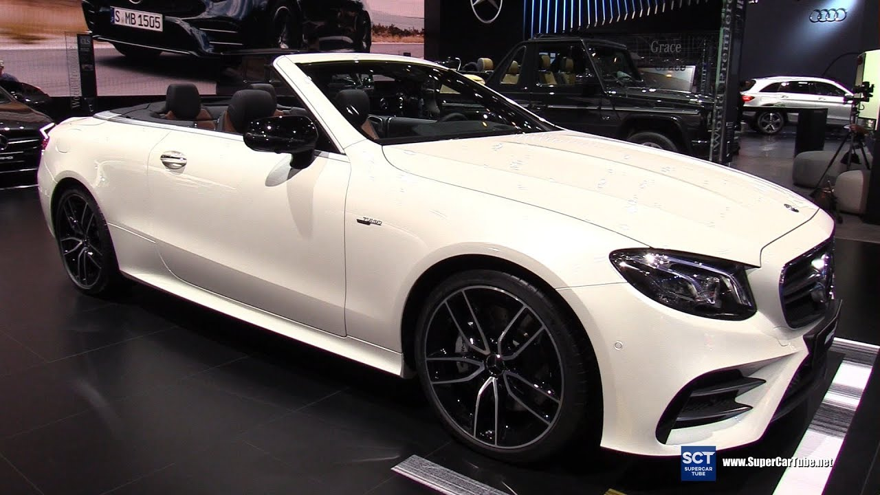 2019 Mercedes AMG E Class E53 Cabriolet - Exterior and Interior ...