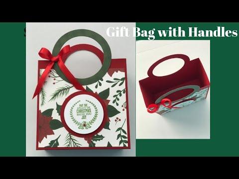 Christmas Handled Gift Bags