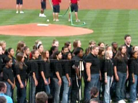 National Anthem by Lanier Middle School Buford, Ga.