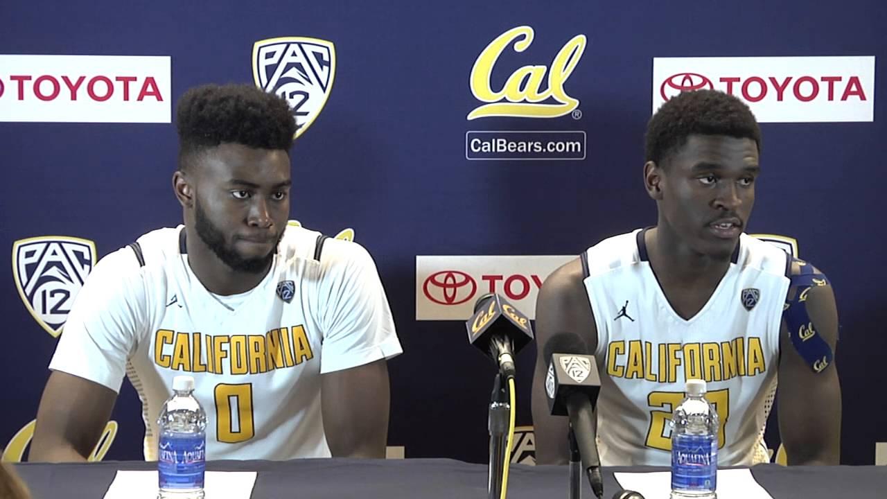 new concept 5aada d6872 Cal Men's Basketball: Jaylen Brown & Jabari Bird Press Conference (2/13/16)