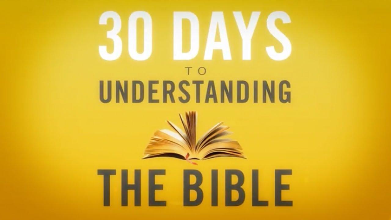 Understand the Bible in 30 Days — FaithGateway