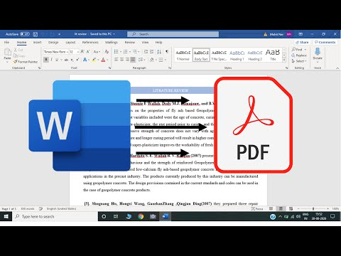 3 Cara Mudah Merubah Dokumen PDF ke Word (tanpa aplikasi & menggunakan aplikasi)