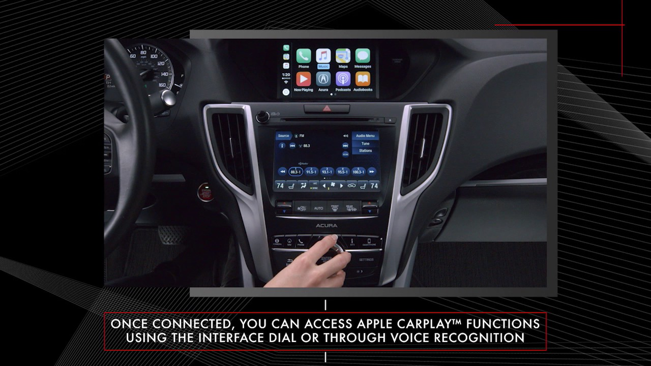 Acura Tlx Le Car Play