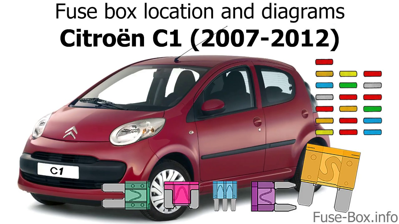 fuse box location and diagrams citroen c1 2007 2012 youtube fuse box location citroen c1 fuse box in citroen c1 [ 1280 x 720 Pixel ]