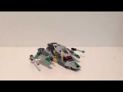 Lego 7250 Clone Scout Walker 2005 Alternate Model Review Youtube