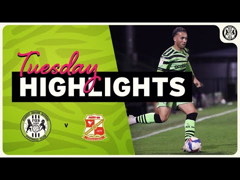 Forest Green Swindon Goals And Highlights