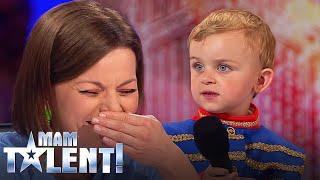 """Trzylatek recytuje """"Pana Tadeusza""""! Jurorzy zaniemówili! [Mam Talent!]"""