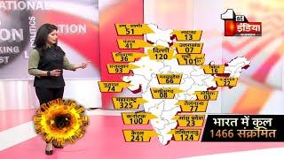 Covid-19: देखिए किस राज्य में कितने पॉजिटिव, भारत मे 1466 हुए Corona पॉजिटिव | 1 April 2020