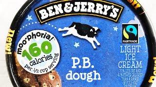 Ben & Jerrys Moophoria P.B. Dough light ice cream: REVIEW ENG/DE