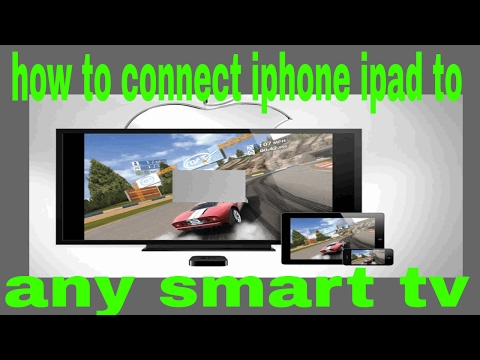 How do i stream my ipad to my samsung smart tv