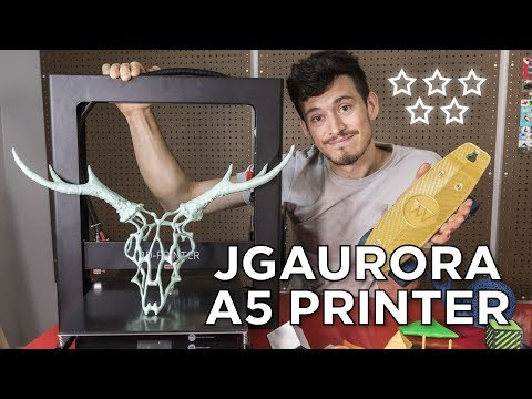JGAurora A5 3D Printer Review // Underrated?