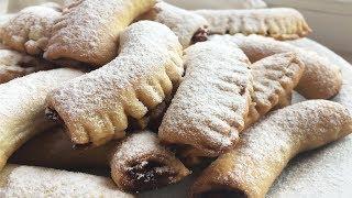 Простое и вкусное песочное печенье, Домашнее печенье за 5 минут
