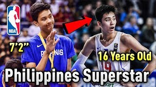 Meet Kai Sotto: The 7'2 16 Year Old Philippines SUPERSTAR Who May Be A Future NBA STAR!