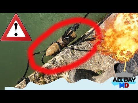 MAGNEETVISSEN SPECIAL !!! - BOMMEN EN GRANATEN - EXPLORING THE WARZONES - VERDUN FRANCE !!