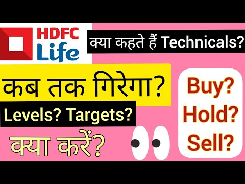 HDFC LIFE और कितना गिरेगा? WHY IS HDFC LIFE SHARE FALLING? HDFC LIFE SHARE TARGET | #wealthfirst
