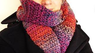 Winter Schal Häkeln Super Warmen Schlauch Schal Einfache