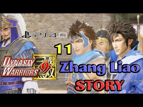 Dynasty Warriors 9 Wei Chapter 7: Zhang Liao 11 Jing Province & Tong Gate still NO HEFEI!?