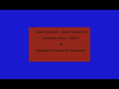Las Palmas, Nomad City 2017 to Panama