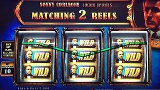 The Godfather Slot Machine Bonus Don Corleone BIG WIN MAX BET