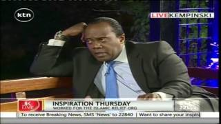 Jeff Koinange Live: Inspirational Thursday with Omar Mohammed Maalim , 4th August 2016 Part 2