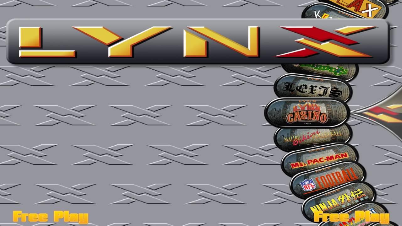 Hyperspin Atari Lynx - Arcade Punks