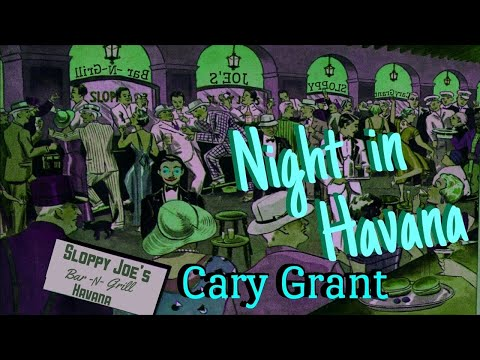"CARY GRANT Has Unforgettable ""Night in Havana"" SUSPENSE Classic Radio Thriller"