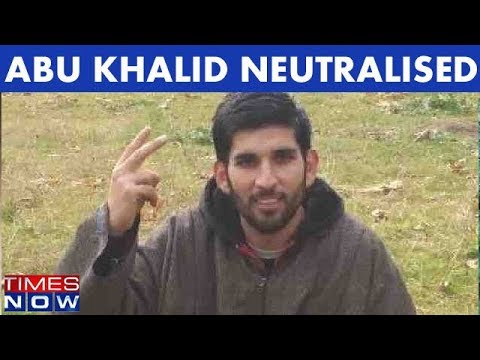 Jaish-e-Mohammed Terrorist Abu Khalid Gunned Down In Jammu and Kashmir