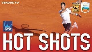 Hot Shot: Djokovic Guesses Right At Monte-Carlo 2017