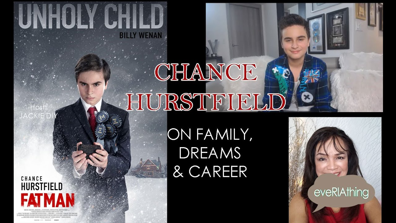 Young Actor Chance Hurstfield on Family, Dreams and Career: A Candid Interview