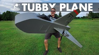 This Won't Fly Well  |  I took the tail off a B52 and made it into a plane?