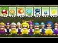 New Super Mario Bros Wii - All Wario and Waluigi Power-Ups