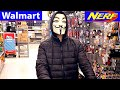 NERF SHOPPING At WALMART With The HACKER