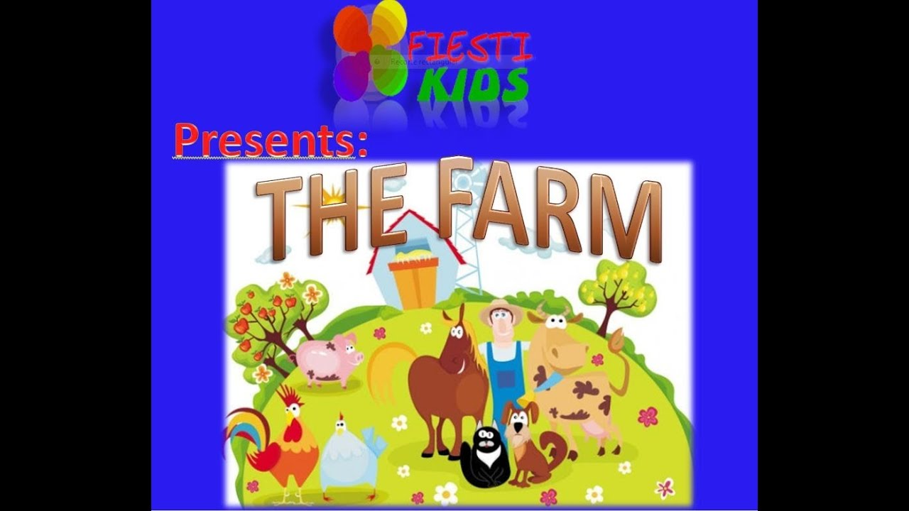 farm animals and farmer for children song la granja en