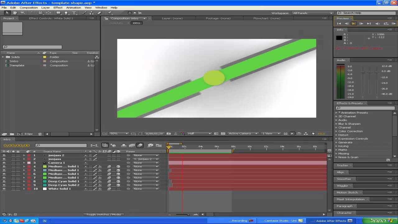 Adobe After effects CS4 - Templates מדריך 1 - YouTube