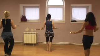 Обучение восточным танцам . Школа танца